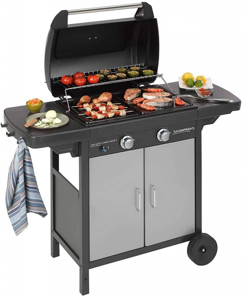 barbecue gaz grillades