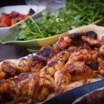 barbecue gaz grillades poulet